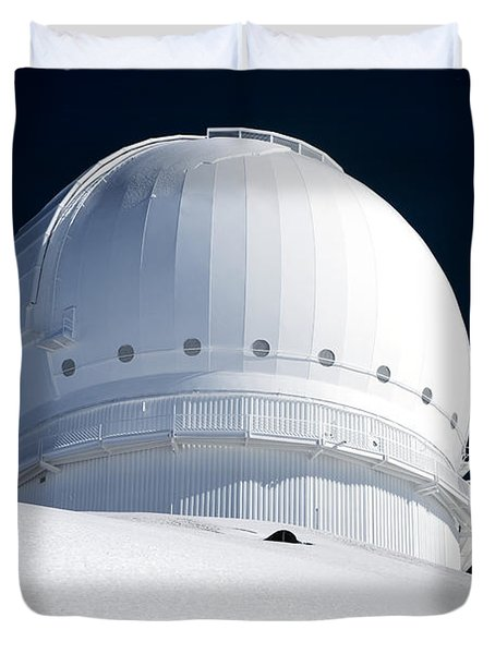 Mauna Kea Observatory Duvet Cover by Peter French - Printscapes