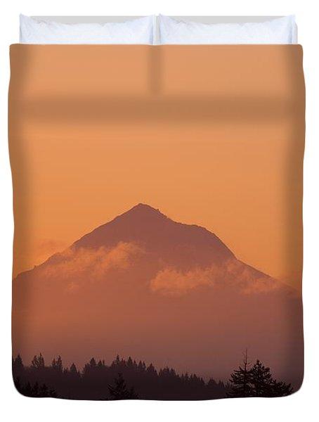 Mount Hood, Oregon, Usa Duvet Cover by Craig Tuttle