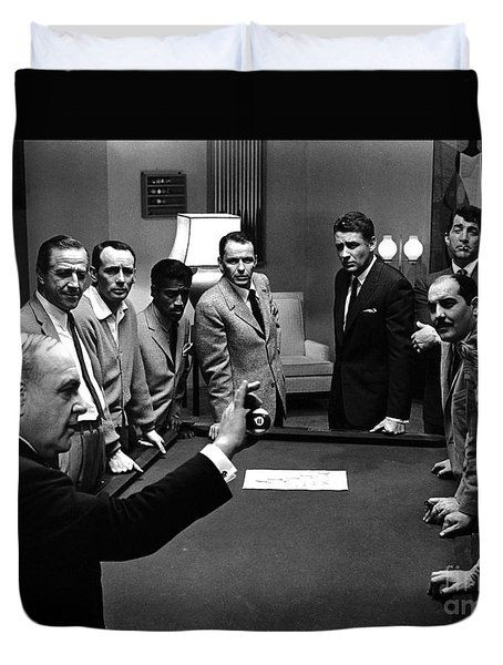 Ocean's 11 Promotional Photo. Duvet Cover by The Titanic Project