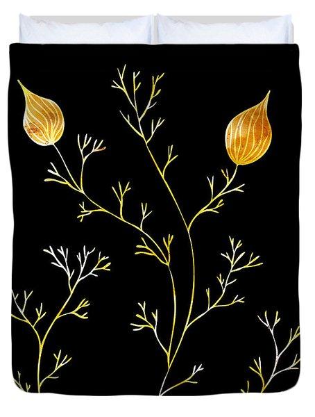 Organic Forms Duvet Cover by Frank Tschakert