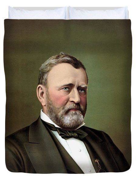 President Ulysses S Grant Duvet Cover by War Is Hell Store