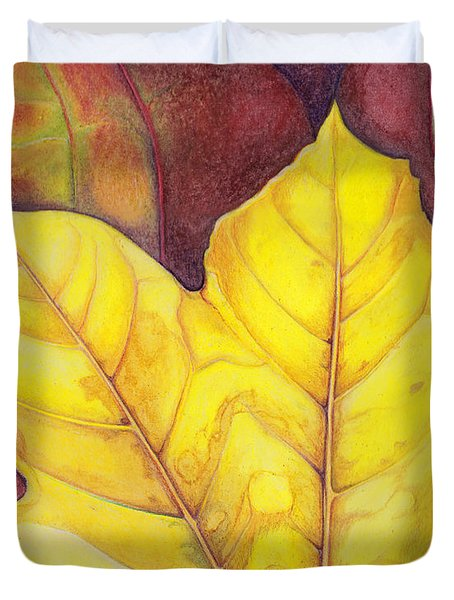 Releaf Duvet Cover by Amy Tyler