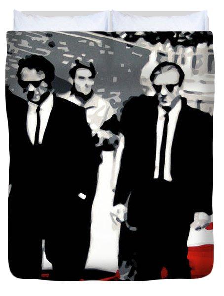 Reservoir Dogs Duvet Cover by Luis Ludzska