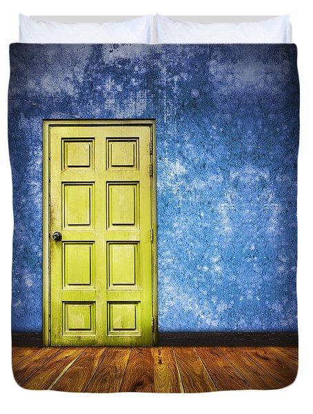 retro room Duvet Cover by Setsiri Silapasuwanchai