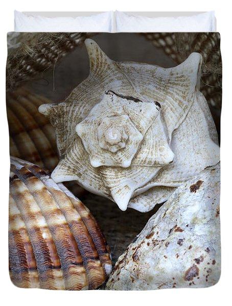 Seashells Duvet Cover by Frank Tschakert