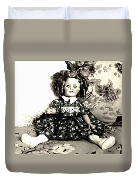 Shirley Temple Duvet Cover by Marna Edwards Flavell