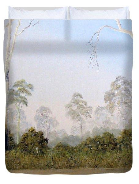 Still Creek Duvet Cover by John Cocoris