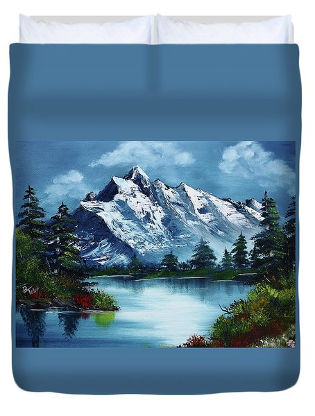 Take A Breath Duvet Cover by Barbara Teller
