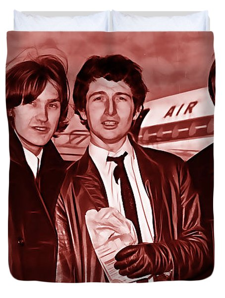 The Kinks Collection Duvet Cover by Marvin Blaine