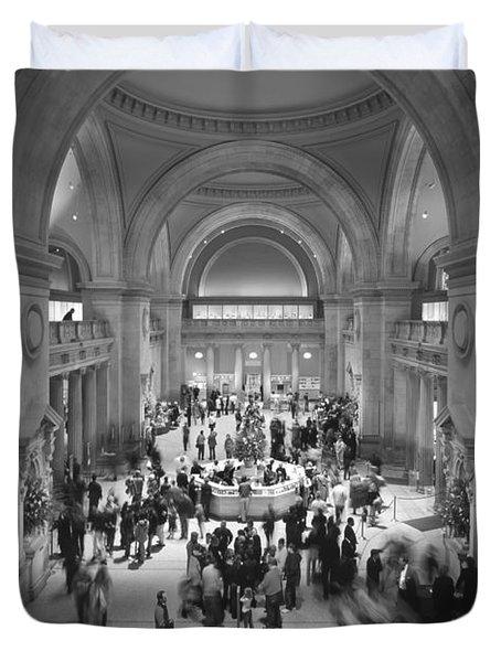 The Metropolitan Museum Of Art Duvet Cover by Mike McGlothlen