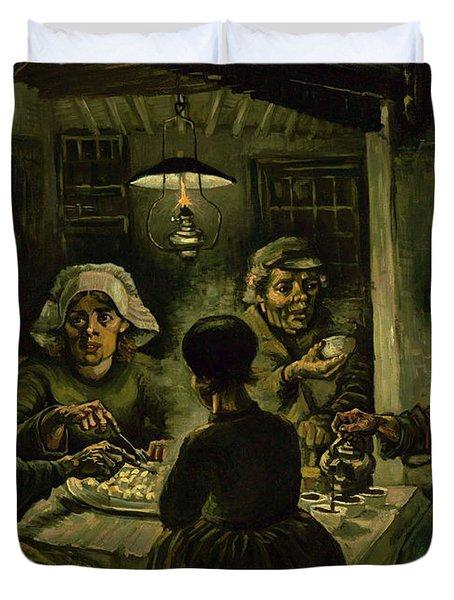 The Potato Eaters, 1885 Duvet Cover by Vincent Van Gogh