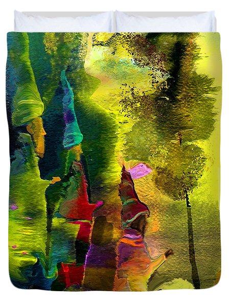 The Three Kings Duvet Cover by Miki De Goodaboom
