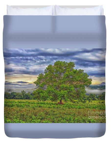 The Tree Duvet Cover by Geraldine DeBoer