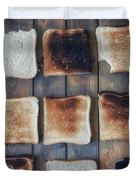 Toast Duvet Cover by Joana Kruse