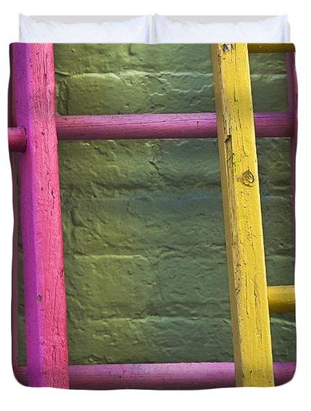 Upwardly Mobile Duvet Cover by Skip Hunt
