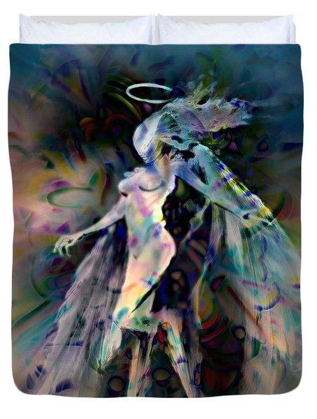 Virgo Duvet Cover by WBK