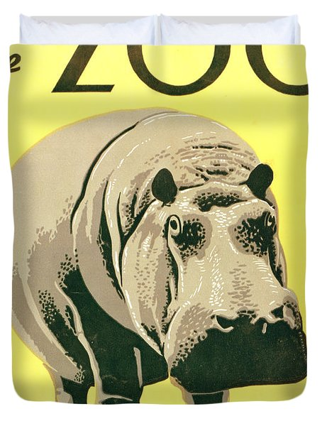 Visit The Zoo Duvet Cover by Unknown