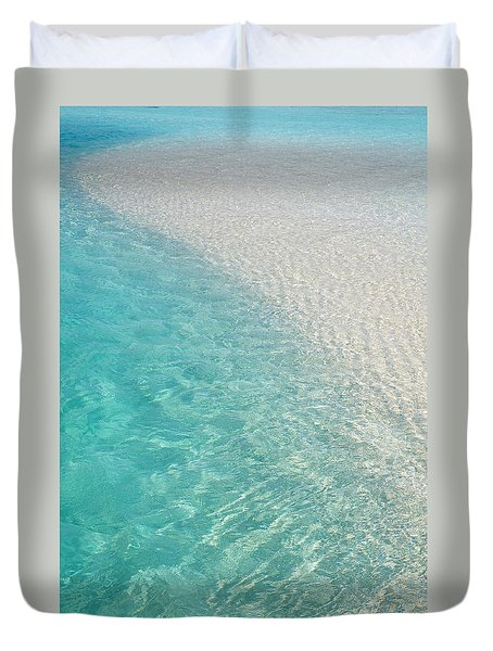 Water Meditation I. Five Elements. Healing with Feng Shui and Color Therapy in Interior Design Duvet Cover by Jenny Rainbow