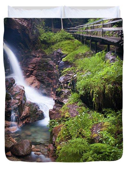 Waterfall Duvet Cover by Sebastian Musial