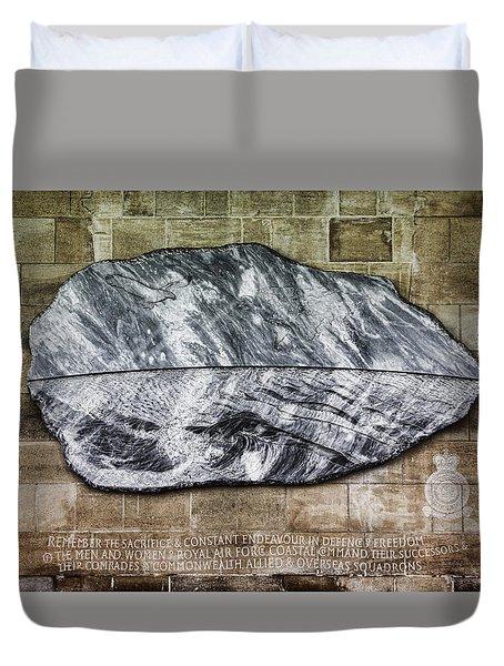 Westminster Military Memorial Duvet Cover by Stephen Stookey