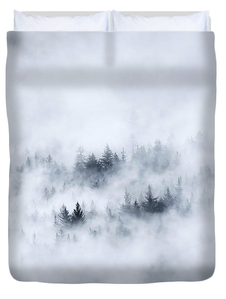 Winter Duvet Cover by Mike  Dawson
