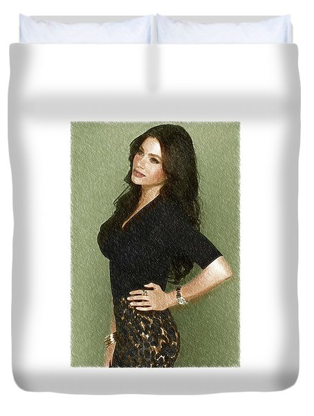 Celebrity Sofia Vergara  Duvet Cover by Best Actors