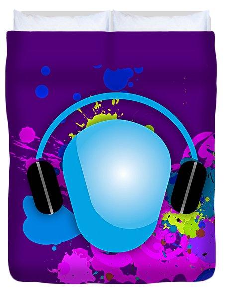 Music Duvet Cover by Marvin Blaine