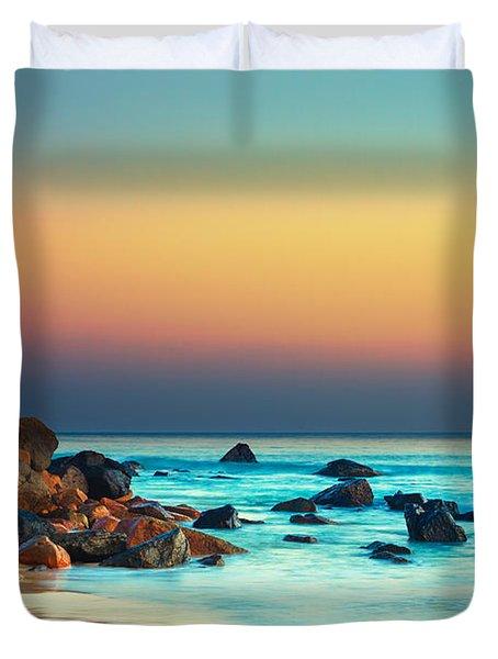 Sunset Duvet Cover by MotHaiBaPhoto Prints