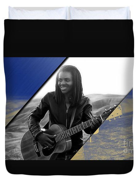 Tracy Chapman Collection Duvet Cover by Marvin Blaine