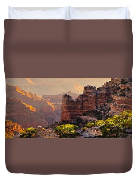 A Grand View Duvet Cover by Mikes Nature