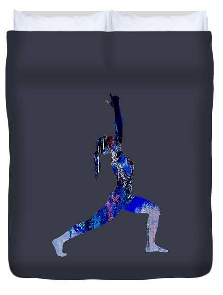 Yoga Collection Duvet Cover by Marvin Blaine