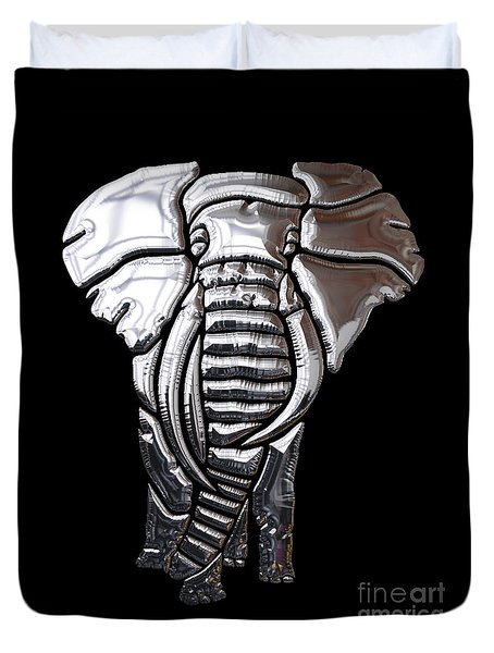 Elephant Collection Duvet Cover by Marvin Blaine