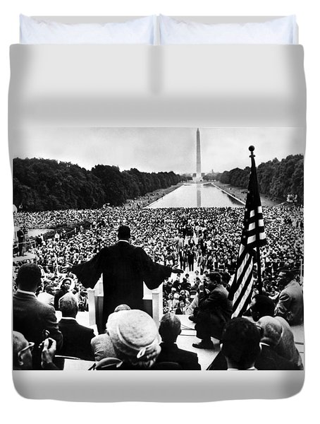 Martin Luther King Jr Duvet Cover by American School