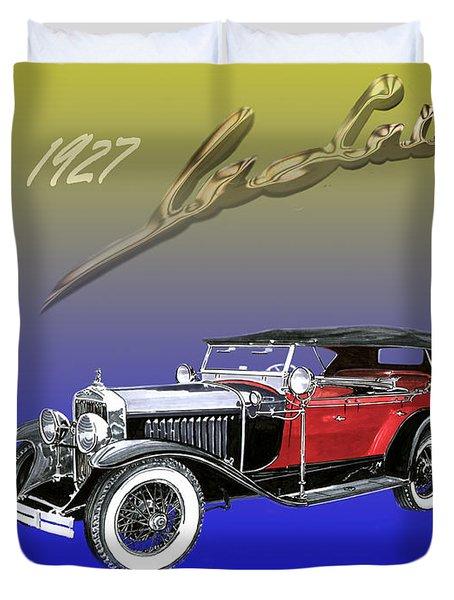 1927 Lasalle Duvet Cover by Jack Pumphrey