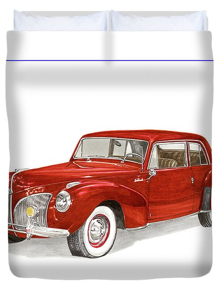 1941 Mk I Lincoln Continental Duvet Cover by Jack Pumphrey