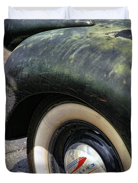 1946 Chevy Pick Up Duvet Cover by Gordon Dean II