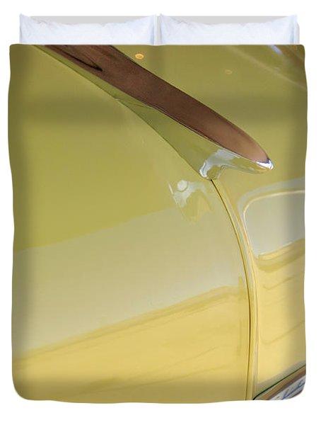 1953 Chevrolet Bel Air Hood Ornament Duvet Cover by Jill Reger