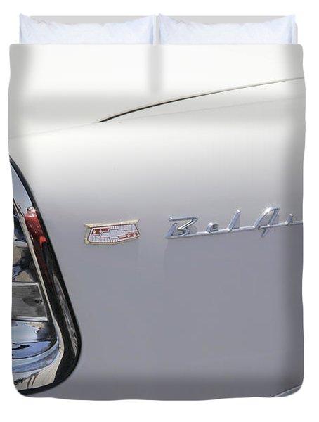 1956 Chevy Belair Duvet Cover by Mike McGlothlen
