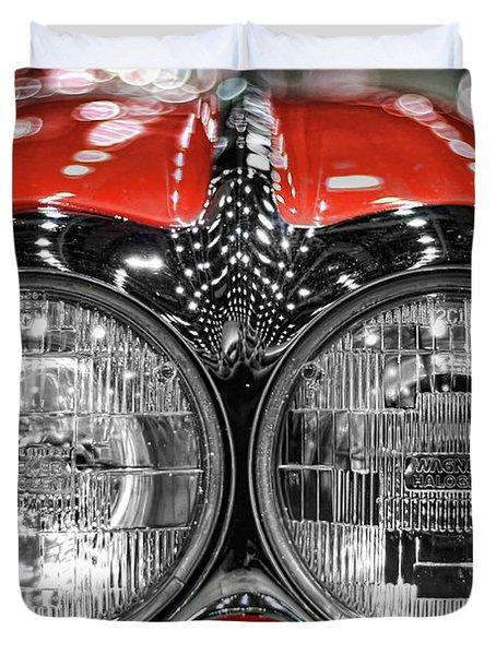 1958 Chevrolet Corvette  Duvet Cover by Gordon Dean II