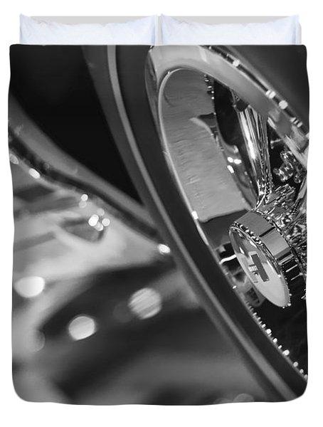 1966 Hurst Pontiac Gto Duvet Cover by Gordon Dean II