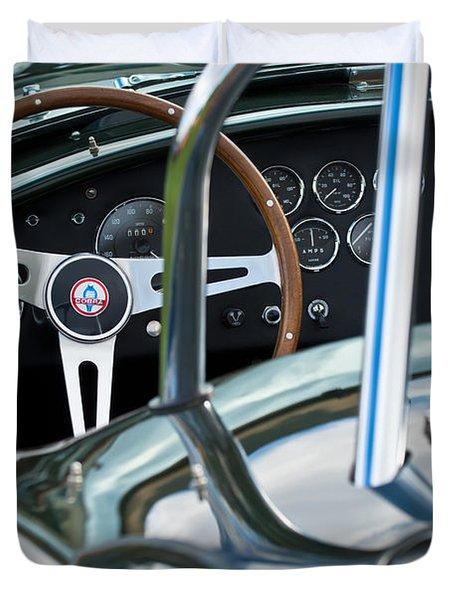 1966 Shelby 427 Cobra Duvet Cover by Jill Reger