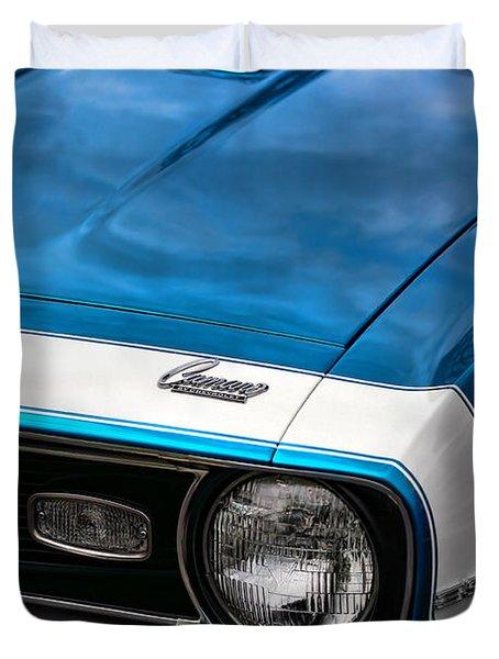 1968 Chevy Camaro Ss 396 Duvet Cover by Gordon Dean II