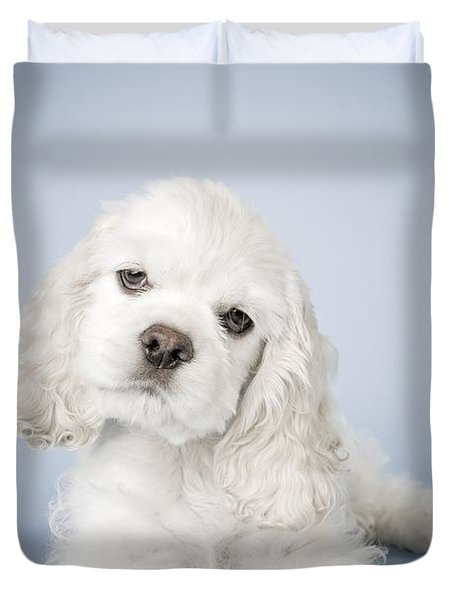 Cocker Spaniel Duvet Cover by David DuChemin
