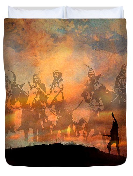 Forefathers Duvet Cover by Paul Sachtleben