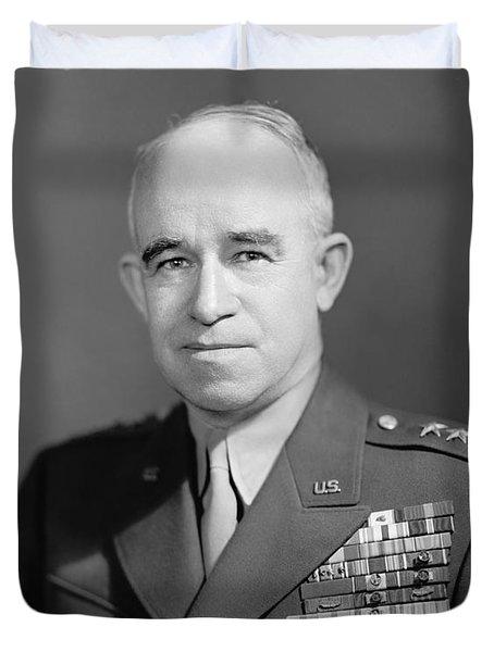 General Omar Bradley  Duvet Cover by War Is Hell Store