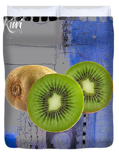 Kiwi Collection Duvet Cover by Marvin Blaine