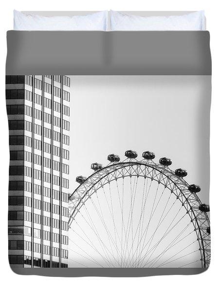 London Eye Duvet Cover by Joana Kruse