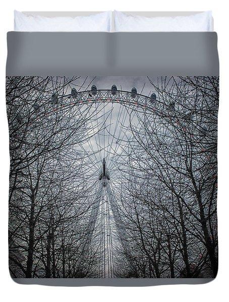 London Eye Duvet Cover by Martin Newman