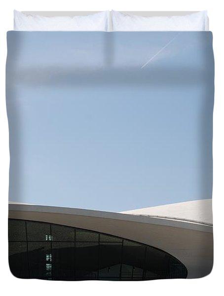 T W A Terminal Duvet Cover by Rob Hans