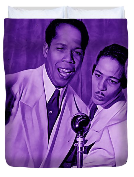 The Ink Spots Collection Duvet Cover by Marvin Blaine